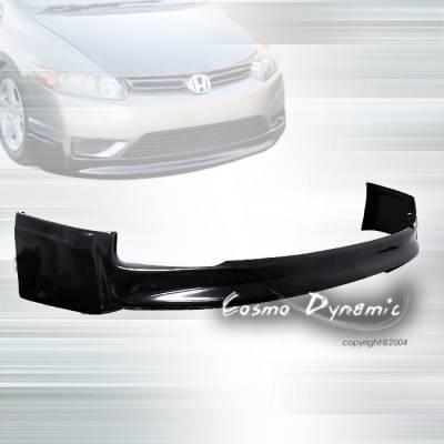 Custom - HONDA CIVIC 2DR M-STYLE FRONT BUMPER LIP
