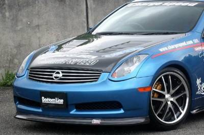 Chargespeed - Infiniti G35 2DR Chargespeed Bottom Line Front Lip