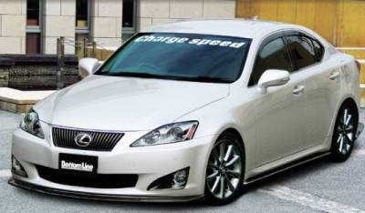 Chargespeed - Lexus IS Chargespeed Bottom Line Front Lip