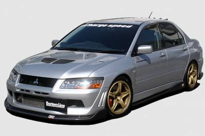 Chargespeed - Mitsubishi Lancer Chargespeed Bottom Line Front Lip