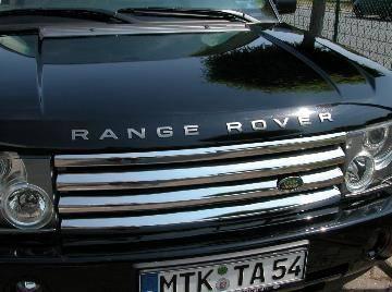 Custom - Range Rover Stainless Steel Grille Lips