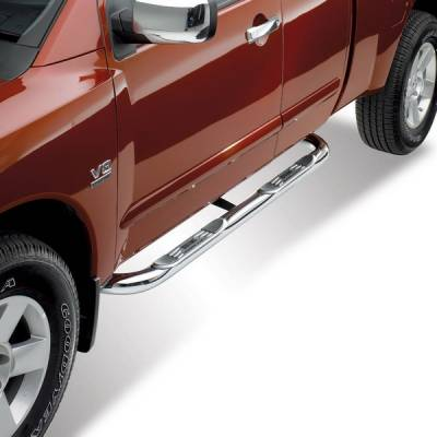 Westin - Nissan Titan Westin Platinum Series Step Bars - 26-2550