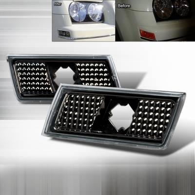 Custom Disco - Chrysler 300 Custom Disco Bumper Lights - LSM-300C05G-TM