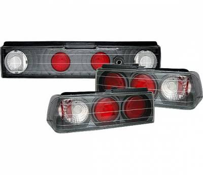 4 Car Option - Honda CRX 4 Car Option Altezza Taillights - Carbon Fiber Style - LT-HX88F-YD