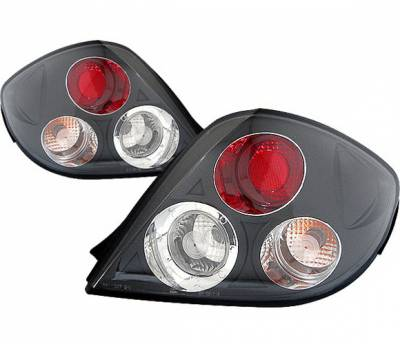4 Car Option - Hyundai Tiburon 4 Car Option Taillights - Black - LT-HYT03B