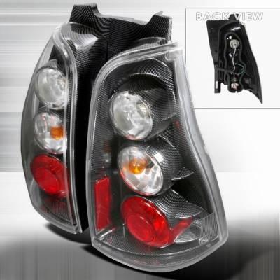 Custom Disco - Toyota 4Runner Custom Disco Carbon Taillights - LT-4RUN03CF-TM