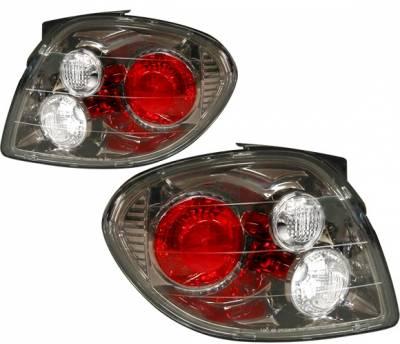 4 Car Option - Hyundai Tiburon 4 Car Option Altezza Taillights - Gunmetal - LT-HYTI00G-YD