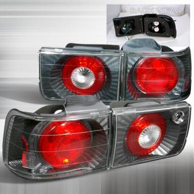 Custom Disco - Honda Accord Custom Disco Carbon Taillights - LT-ACD92CF-YD