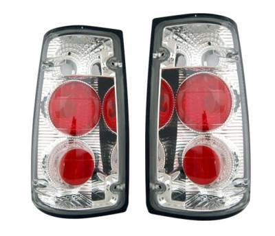 4 Car Option - Isuzu Rodeo 4 Car Option Altezza Taillights - Chrome - LT-IR91A-3