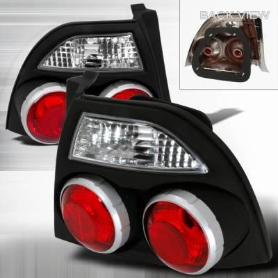 Custom Disco - Honda Accord Custom Disco Black JDM Skyline Sytle Taillights - LT-ACD94JMGN