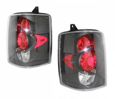 4 Car Option - Jeep Grand Cherokee 4 Car Option Altezza Taillights - Black - LT-JGC93JB-YD