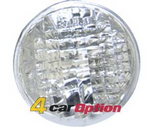 4 Car Option - Lexus IS 4 Car Option Taillights - Back Up Lamp - Clear - LT-LI00C-KS