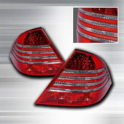 Custom Disco - Mercedes-Benz S Class Custom Disco Smoke Lens JDM Taillights - LT-BW22099G