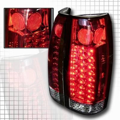 Custom Disco - Chevrolet C10 Custom Disco Red LED Taillights - LT-C1088RLED