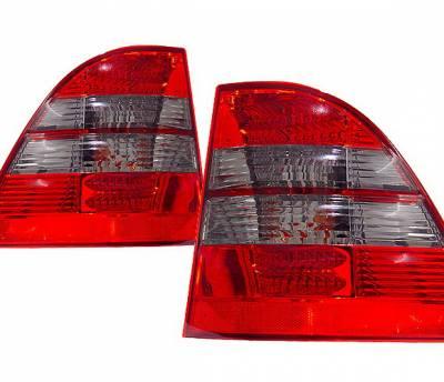 4CarOption - Mercedes ML 4CarOption LED Taillights - LT-MBZW163LEDRSM-KS