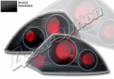 4 Car Option - Mitsubishi Eclipse 4 Car Option Altezza Taillights - Black - LT-ME00B-YD
