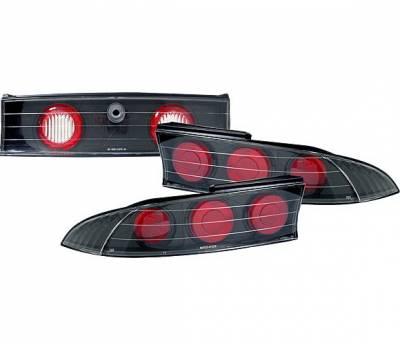 4 Car Option - Mitsubishi Eclipse 4 Car Option Altezza Taillights - Black - LT-ME95JB-YD