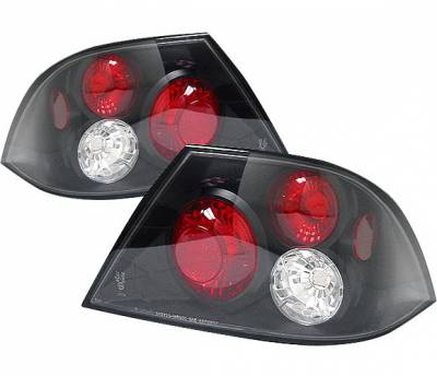 4 Car Option - Mitsubishi Lancer 4 Car Option Altezza Taillights - Black - LT-ML03JB-YD