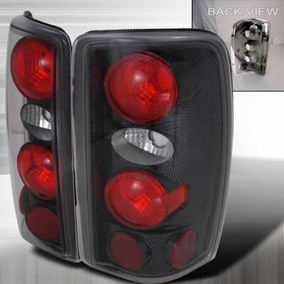 Custom Disco - GMC Denali Custom Disco Carbon Altezza Taillights - LT-DEN00CF-KS