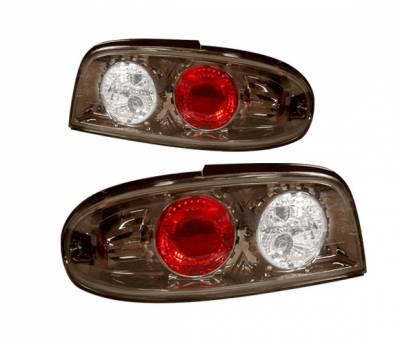 4 Car Option - Nissan Altima 4 Car Option Altezza Taillights - Gunmetal - LT-NA93G-YD