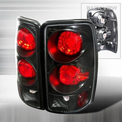 Custom Disco - GMC Yukon Custom Disco Black Altezza Taillights - LT-DEN00JM-YD