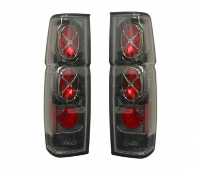 4 Car Option - Nissan Pickup 4 Car Option Altezza Taillights - Carbon Fiber Style - LT-NH86F-YD