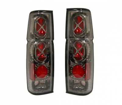 4 Car Option - Nissan Pickup 4 Car Option Altezza Taillights - Gunmetal - LT-NH86G-YD