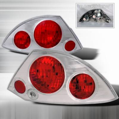Custom Disco - Mitsubishi Eclipse Custom Disco Chrome Taillights - LT-ELP99-YD