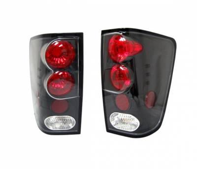 4 Car Option - Nissan Titan 4 Car Option Altezza Taillights - Black - LT-NTIT04JB-YD