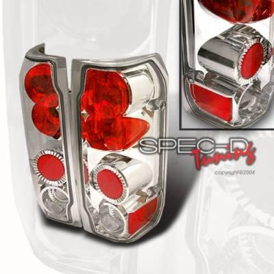 Custom Disco - Ford F150 Custom Disco Chrome Taillights - LT-F15089-YD