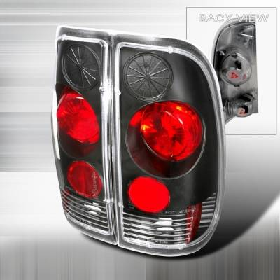 Custom Disco - Ford F150 Custom Disco Black Altezza Taillights - LT-F15097JM-YD