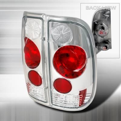 Custom Disco - Ford F150 Custom Disco Chrome Taillights - LT-F15097-YD