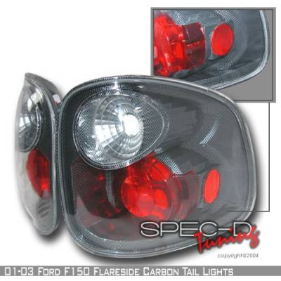 Custom Disco - Ford F150 Custom Disco Black Taillights - LT-F150F01CF-YD