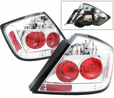 4 Car Option - Scion tC 4 Car Option Altezza Taillights - Chrome - LT-STC04A-5