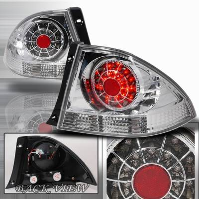 Custom Disco - Lexus IS Custom Disco Chrome LED Taillights - LT-IS30000CLED