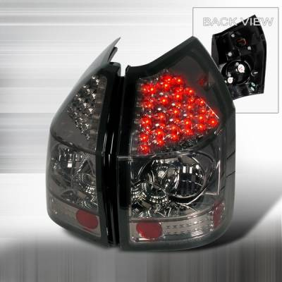 Custom Disco - Dodge Magnum Custom Disco Smoke LED Taillights - LT-MAG05GLED