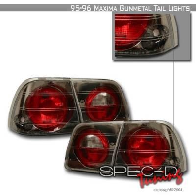 Custom Disco - Nissan Maxima Custom Disco Gunmetal Taillights - LT-MAX95G-YD