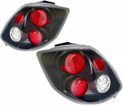 4 Car Option - Toyota Matrix 4 Car Option Altezza Taillights - Black - LT-TM02JB-YD