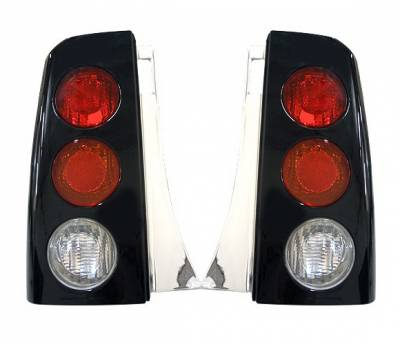 4 Car Option - Scion xB 4 Car Option Altezza Taillights - Black - LT-TS01B1