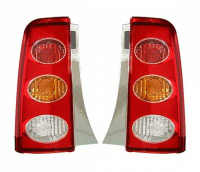 4 Car Option - Scion xB 4 Car Option Altezza Taillights - Red - LT-TS01R1