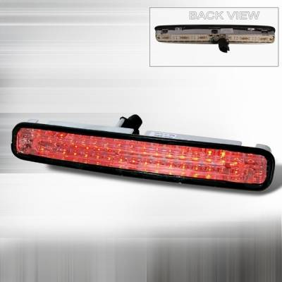 Custom Disco - Ford Mustang Custom Disco Smoke LED 3rd Brake Taillights - LT-MUS05RBCLED