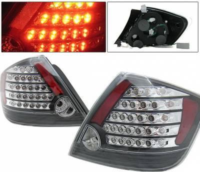 4 Car Option - Scion tC 4 Car Option LED Taillights - Black - LT-TSTC04LEDJB-KS
