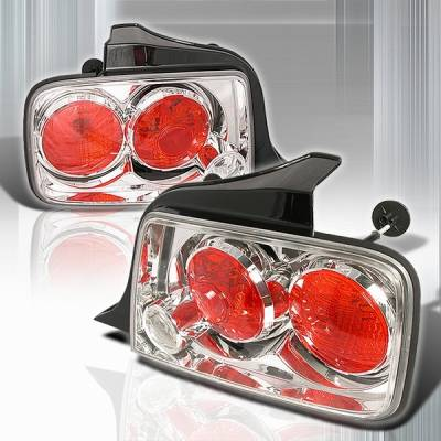 Custom Disco - Ford Mustang Custom Disco Chrome Taillights - LT-MUS05-TM