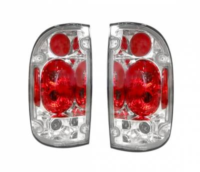 4 Car Option - Toyota Tacoma 4 Car Option Altezza Taillights - Chrome - LT-TTA95A-YD