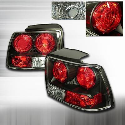 Custom Disco - Ford Mustang Custom Disco JDM Black Taillights - LT-MUS99JM-YD