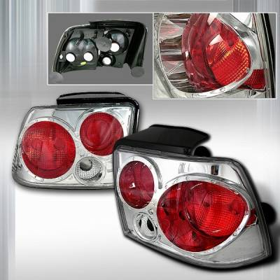 Custom Disco - Ford Mustang Custom Disco Chrome Taillights - LT-MUS99-KS