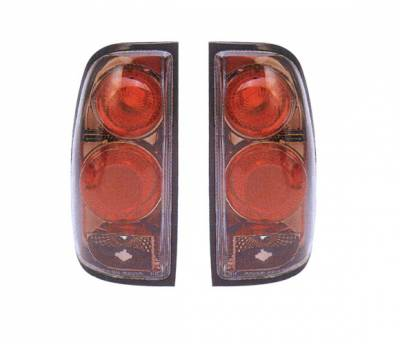 4 Car Option - Toyota Tundra 4 Car Option Altezza Taillights - Gunmetal - LT-TTD99G-YD