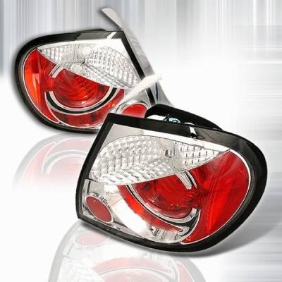 Custom Disco - Dodge Neon Custom Disco Chrome Euro Altezza Taillights - LT-NEO03-YD