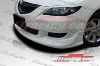 AIT Racing - Mazda 3 4DR AIT Racing KS Style Front Bumper - M302HIKENFB