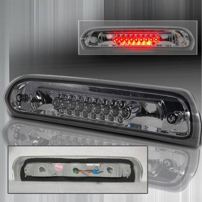 Custom Disco - Dodge Ram Custom Disco Smoke LED Third Brake Lights - LT-RAM02RBSLED